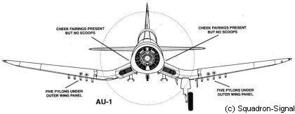 Resultado de imagem para au-1 corsair