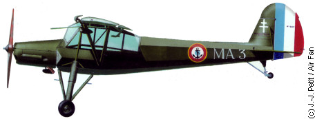 Morane Saulnier MS.500 in Tan Son Nhut